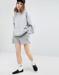 Серые шорты с логотипом Le Coq Sportif - Серый