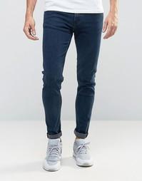 Синие супероблегающие джинсы Weekday Form OD-11 - Синий