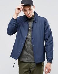 Темно-синяя спортивная куртка Element Morton - Темно-синий