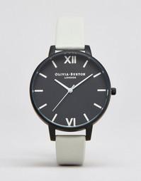 Часы с серым ремешком Olivia Burton After Dark OB16AD04 - Черный