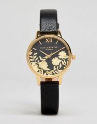 Часы с кожаным ремешком Olivia Burton OB16MV60 - Черный