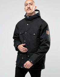 Черная зимняя куртка Fjallraven Greenland - Черный