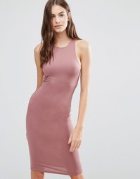 Цельнокройное платье Pixie & Diamond - Фиолетовый
