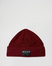 Красная шапка-бини Nicce - Красный