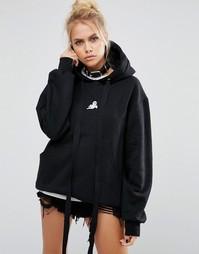 Oversize-худи Adolescent Clothing Halloween Ghost - Черный