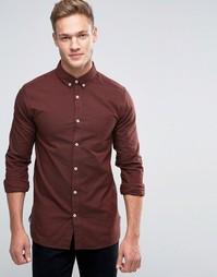 Оксфордская рубашка с длинными рукавами Jack & Jones Premium - Красный