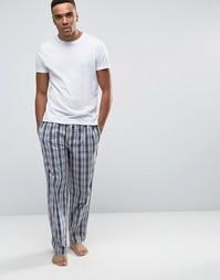 Тканые штаны для дома BOSS By Hugo Boss - Серый