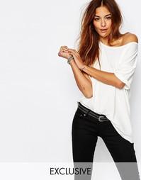 Трикотажная футболка G-Star Be Raw Loyanza Simple - Белый