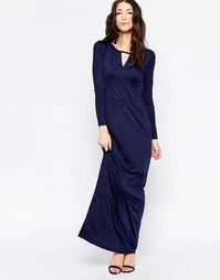 Платье макси Sugarhill Boutique Celine - Темно-синий