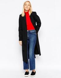 Длинное пальто Wood Wood Kerry - Черный