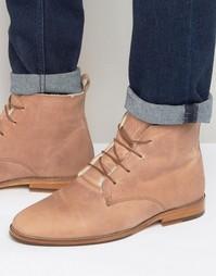 Ботинки на меховой подкладке со шнуровкой Bobbies LExplorateur - Розовый