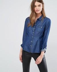 Джинсовая рубашка J.D.Y - Синий JDY