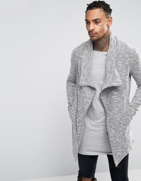 Куртка с асимметричной молнией Black Kaviar - Серый