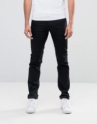 Узкие джинсы Versace - Черный