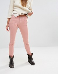 Зауженные джинсы Lee Scarlett - Розовый