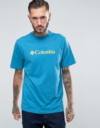 Футболка с логотипом Columbia - Зеленый
