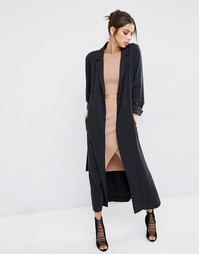 Легкое пальто Kendall + Kylie - Черный