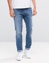 Эластичные джинсы слим Jack & Jones - Синий