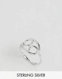 Серебряное кольцо с зодиакальной отделкой Рак Rock N Rose - Серебряный
