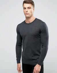 Пуловер из мериносовой шерсти Scotch and Soda - Серый