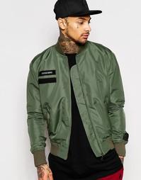 Куртка-пилот Cheats & Thieves - Зеленый