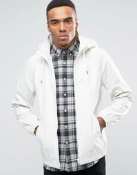 Водостойкая куртка для бега с капюшоном D-Struct - Белый