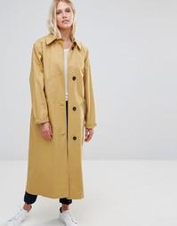 Бежевое легкое oversize‑пальто Cooper & Stollbrand - Бежевый