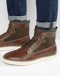Ботинки на шнуровке Call It Spring Safforze - Коричневый