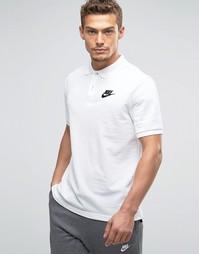 Белая футболка-поло Nike Matchup 829360-100 - Белый