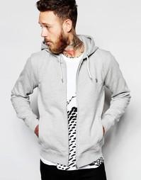 Худи с логотипом зебры Paul Smith Jeans - Серый