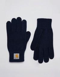Перчатки Carhartt WIP - Темно-синий