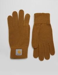 Перчатки Carhartt WIP - Коричневый