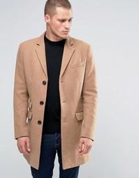 Бежевое пальто Farah - Рыжий