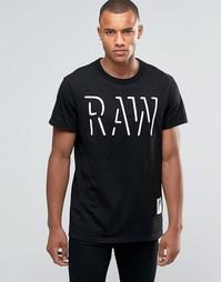 Футболка с логотипом G‑Star Oimin RAW - Черный