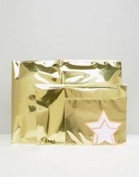 Блестящие золотистые конверты Meri Meri - Мульти