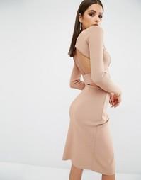 Укороченный лонгслив Kendall + Kylie - Розовый