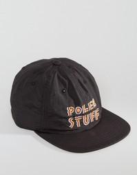 6-панельная кепка Poler Trails - Черный