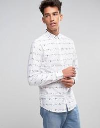 Рубашка Troy Aop - Белый