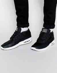 Кроссовки средней высоты Nike Stefan Janoski Max 807507-001 - Черный