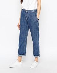 Свободные джинсы бойфренда с отворотами Bethnals Smith - Синий