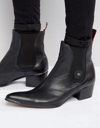 Кожаные ботинки челси Jeffery West Sylvian - Черный