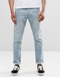 Синие джинсы слим Weekday Wednesday - Синий