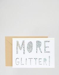 Рождественская открытка с блестками Meri Meri More - Мульти