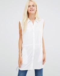 Рубашка без рукавов Daisy Street - Белый