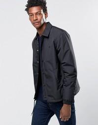 Спортивная куртка с принтом сзади Wood Wood Kael - Черный