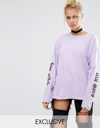 Лонгслив Adolescent Clothing Halloween Teen Witch - Фиолетовый