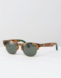 Солнцезащитные очки в стиле ретро Toms Lobamba - Коричневый