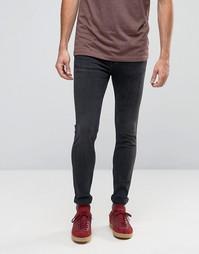 Супероблегающие джинсы Calvin Klein Jeans - Черный