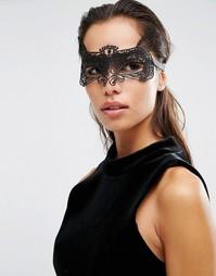 Кружевная маска Johnny Loves Rosie Halloween Sienna - Черный