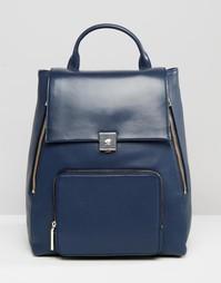 Кожаный рюкзак Modalu - Темно-синий